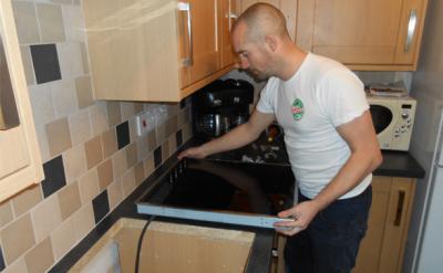 Sửa bếp từ Caso